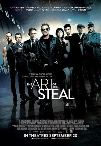 The Art Of The Steal 2013 WEB-DL 480p 300mb ESub