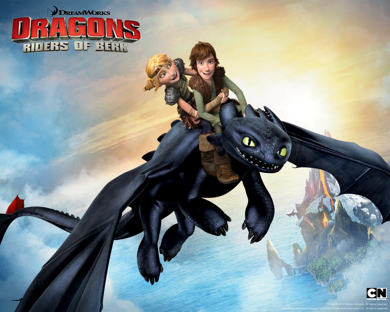 Cielos Salvajes Cielos Salvajes Cielos Salvajes De Dragones Cartoon