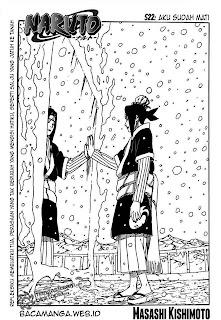 Alur Cerita Naruto Chapter 522 Bahasa Indonesia [ Versi Teks ]