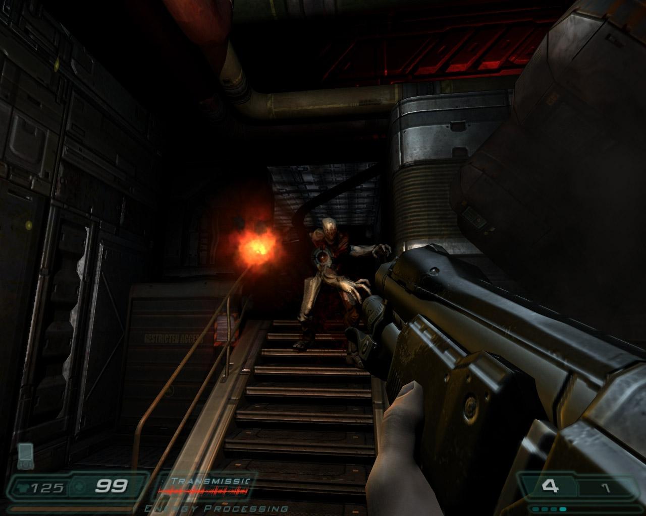 Las armas en Savage Doom son una bestialidad.