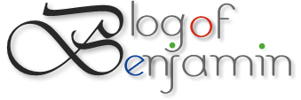 Blog of Benjamin