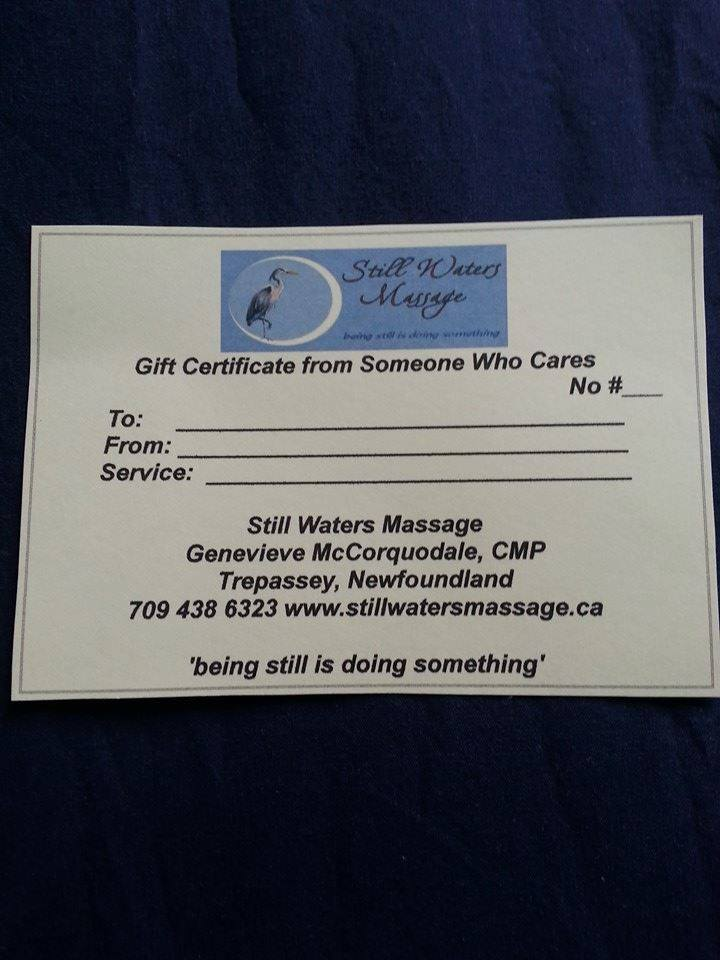 Gift Certificates for Your Loved Ones