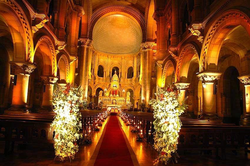 Decoracion de Iglesias para Bodas con Flores, parte 2
