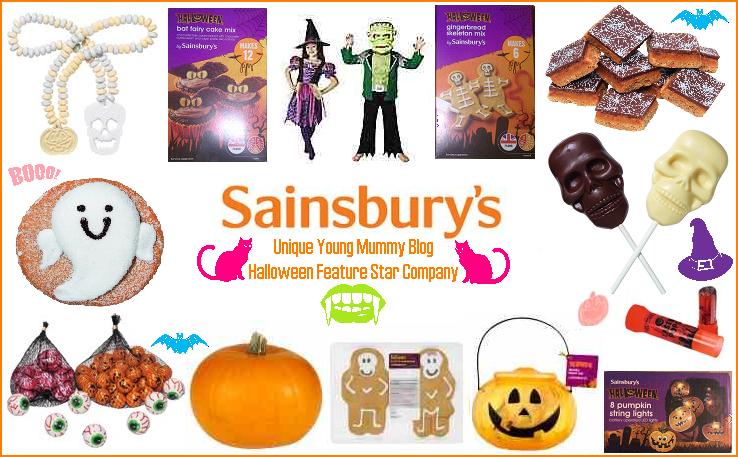 Cake Decorations In Sainsburys : Sainsbury s Halloween Range - Unique Young Mum