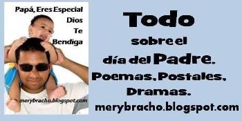 Todo sobre el Día del Padre en este blog, Poesías cortas, poemas, dramas. Feliz día papá, Poemas cristianos, Postales cristianas. Imágenes para abuelo, papi, papá, tío. Felicitaciones por día de los padres