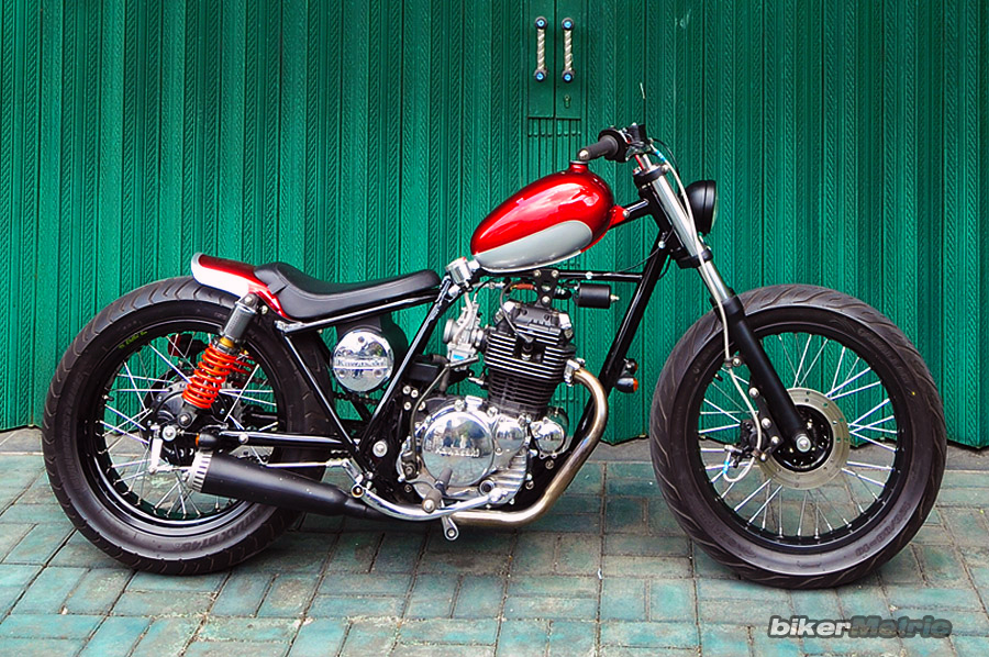kawasaki kz200 brat bobber - right | dariztdesign