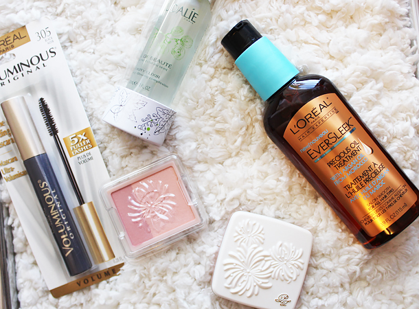 6k bloglovin rafflecopter giveaway makeup cosmetics bbloggers caudalie paul joe beaute l'oreal