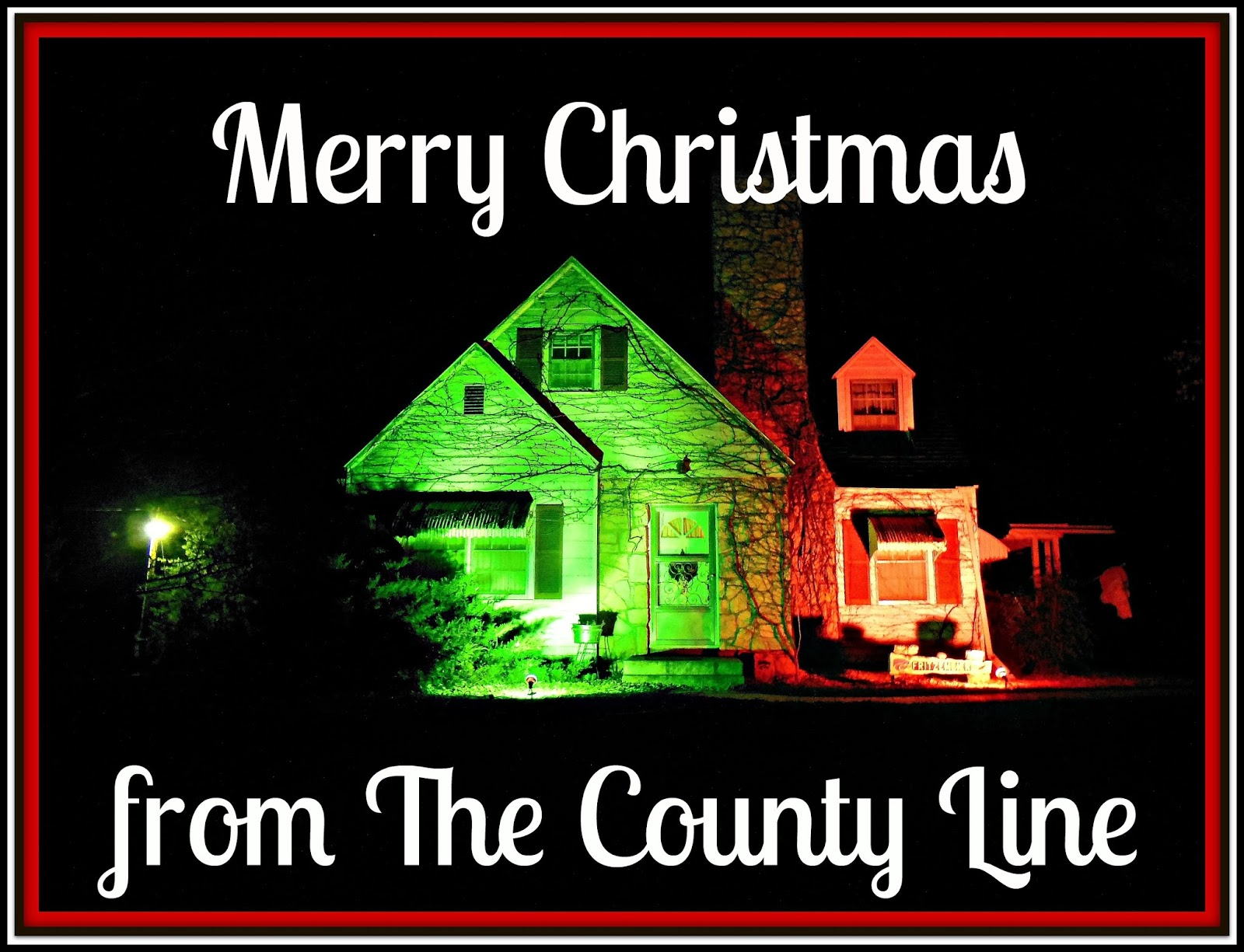 Christmas Decorating With Floodlights : Kim s county line how a decapitation changed christmas