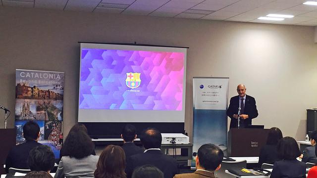 El Barça promociona Catalunya como destino turístico en Tokio