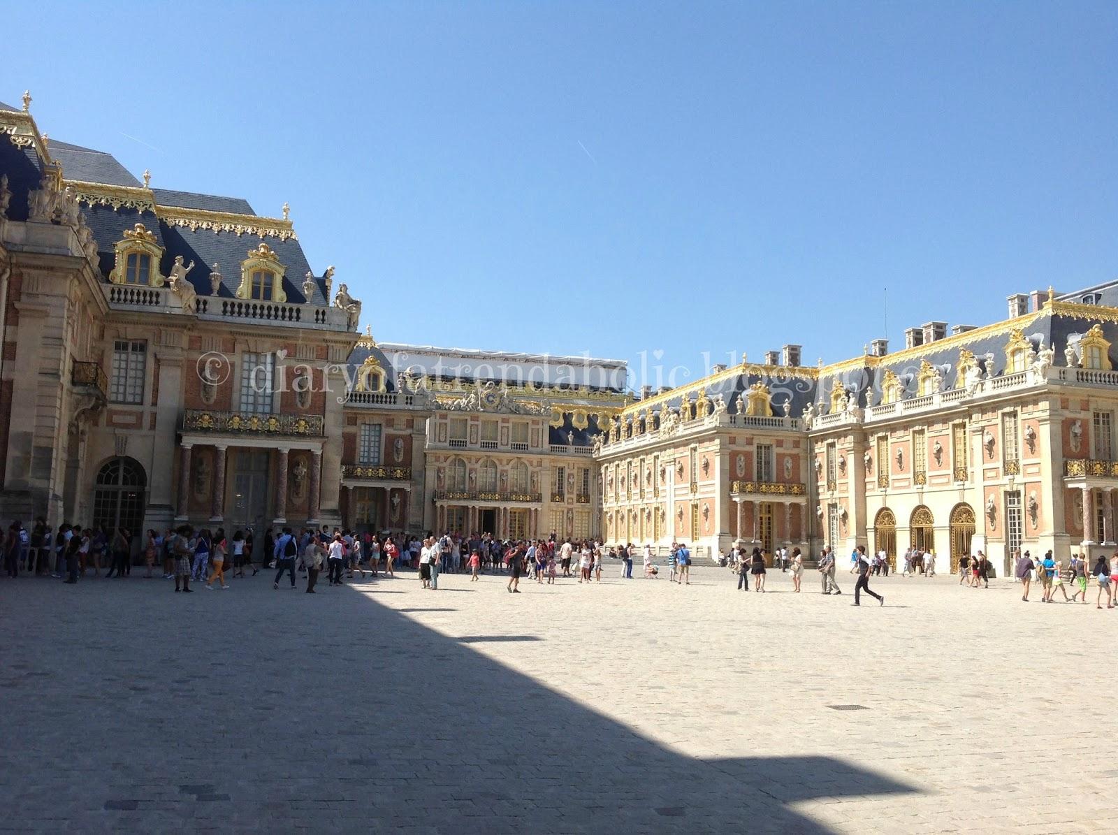 Diary of a trendaholic chateau de versailles - Photo chateau de versailles ...