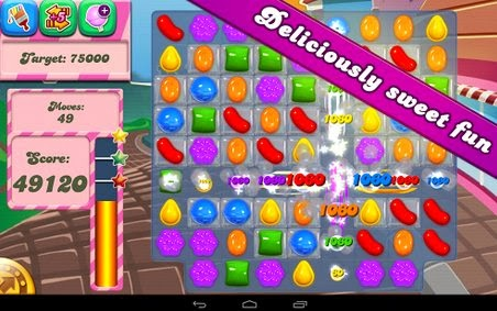 Download Candy Crush Saga 1.19 Data MOD APK Unlimited Lives