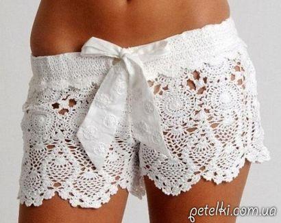Pantalon Corto a Crochet
