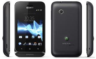 Sony Experia Tipo hitam