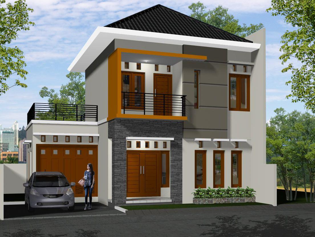 Desain Foyer Minimalis : Desain rumah minimalis lantai modern terbaru