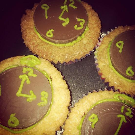 stopwatch cupcakes