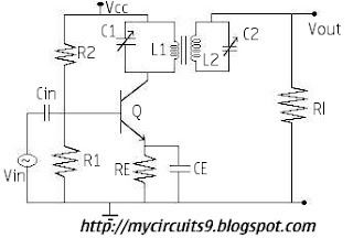 double tuned amplifier circuit