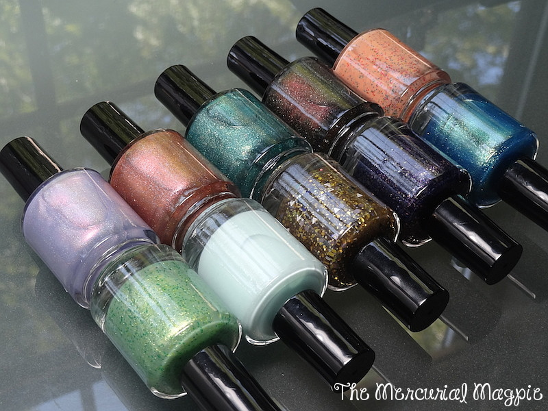 LynBDesigns The Spark Of Madness Collection Swatches & Review