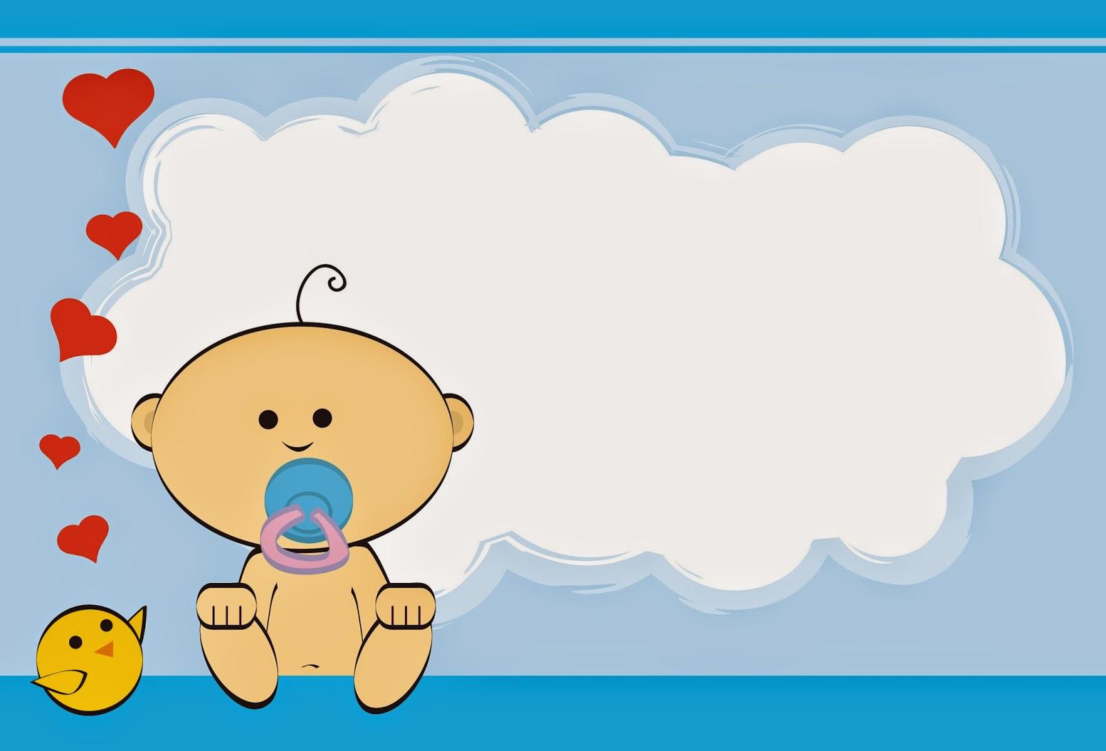Tarjetas e Invitaciones a Baby Shower para Niños, parte 1