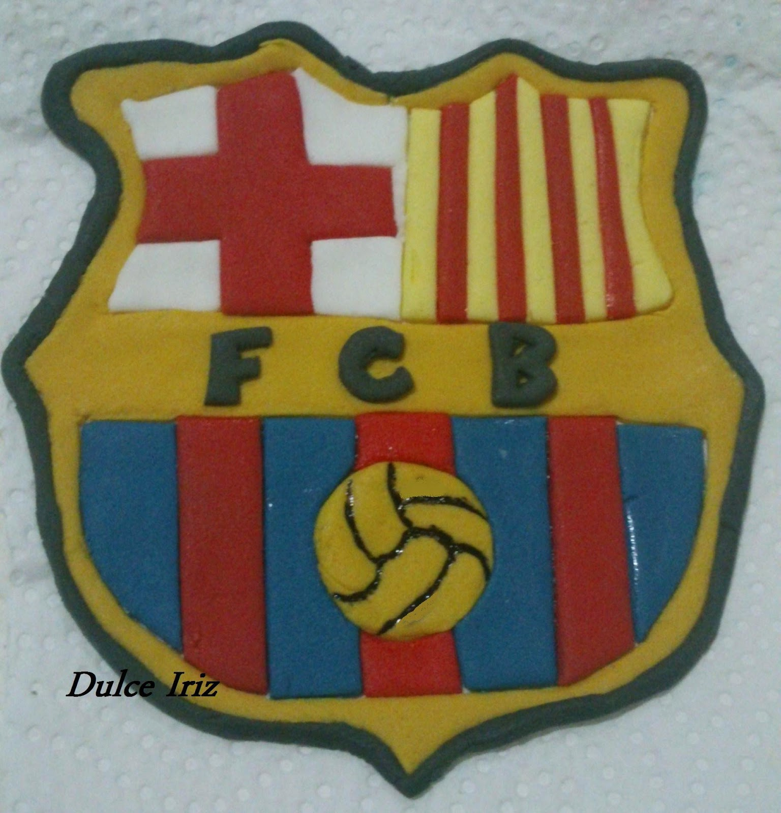 escudo fútbol - dulce iriz