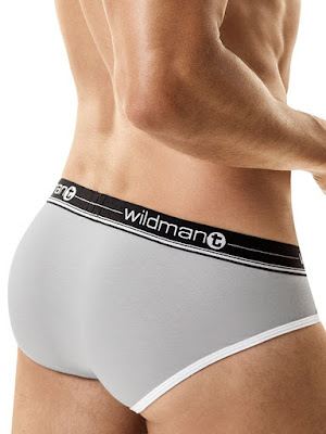 WildmanT Racer Short Brief Underwear Red Back Gayrado
