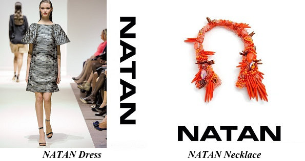 Queen Maxima's NATAN Dress and NATAN Necklace