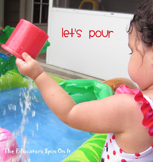 Water Activities for Babies and Toddlers to build Fine Motor Skills