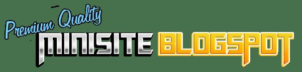 minisite blogspot premium