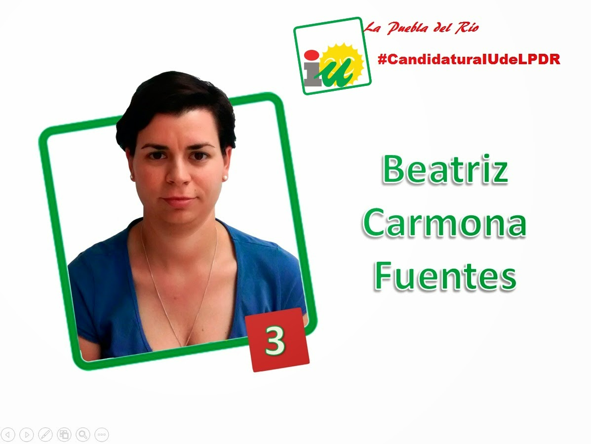 #CandidaturaIUdeLPDR Beatriz Carmona