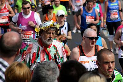 London Marathon Dave