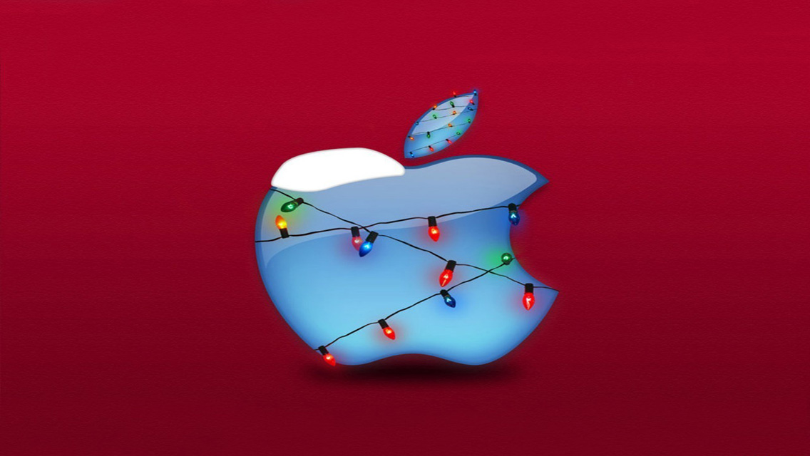 Apple Wallpapers   Free Download Merry Christmas Apple Wallpapers for