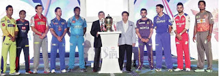 The Captains of the Nine IPL Teams