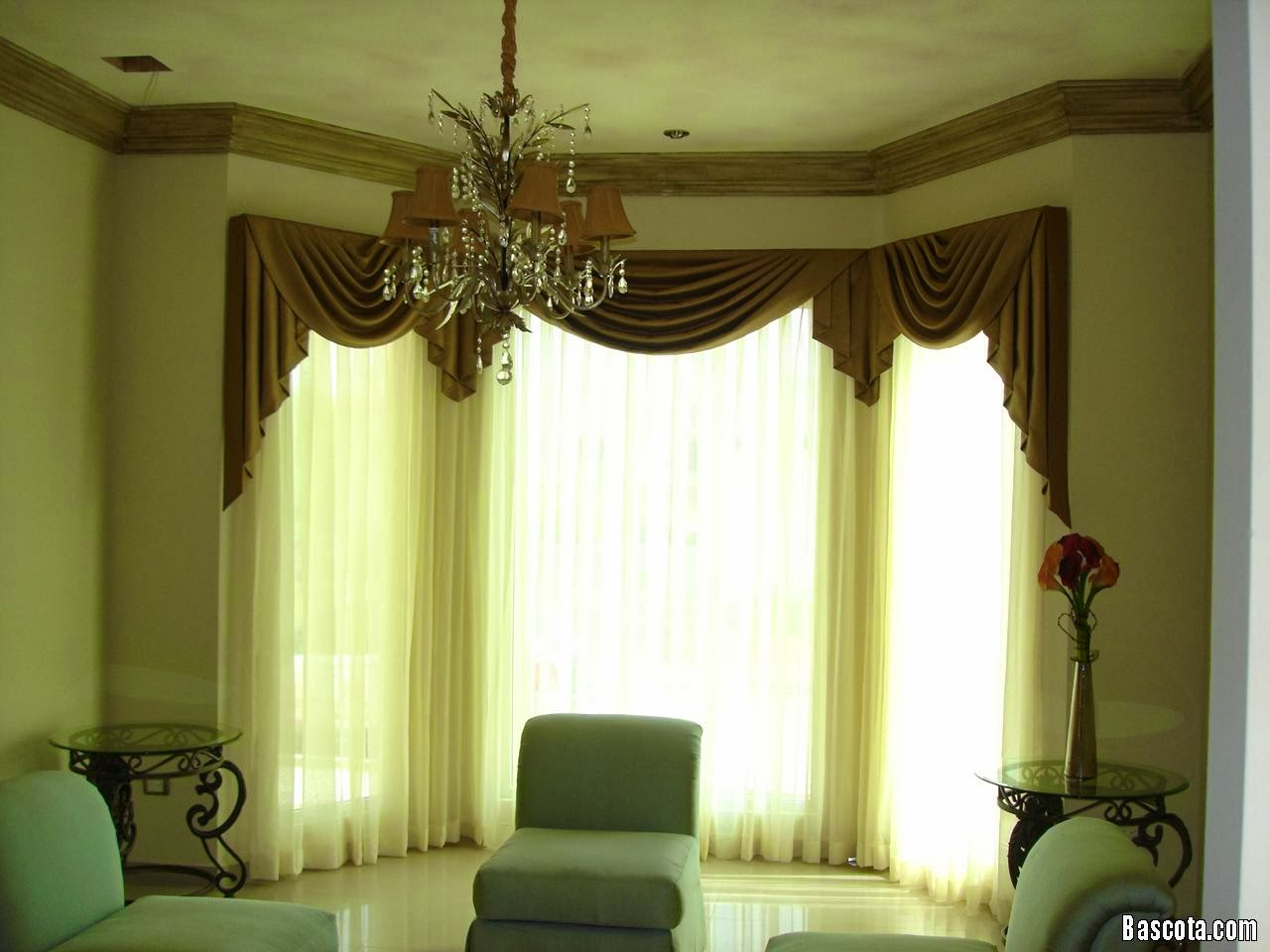 Ideas for window curtains for living room 2014 part 3 for Cortinas de living