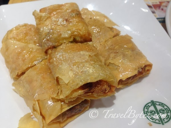 Fried Beancurd Roll @ $5.50