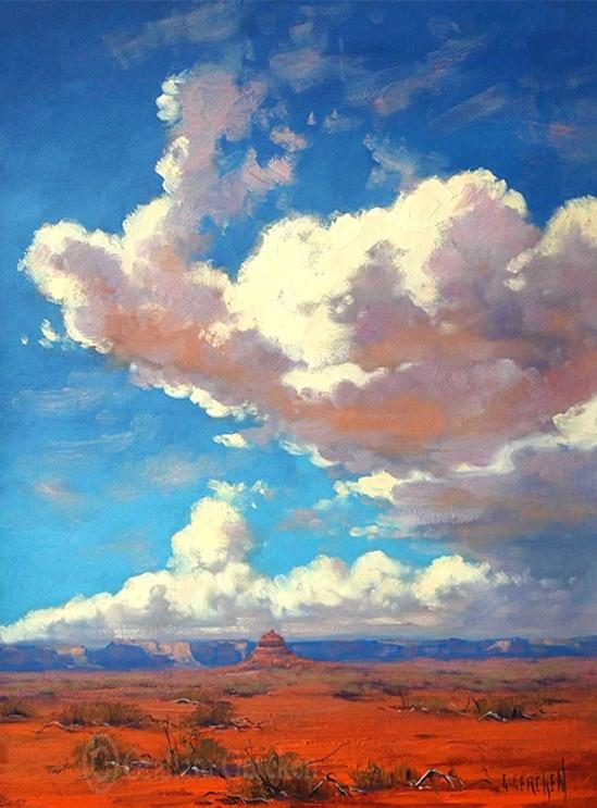Graham gercken 1960 impressionist landscape painter for Australian mural artists