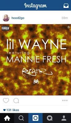 fotos cover portada lil wayne mannie fresh rider free weezy album