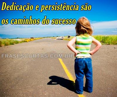 Frases sobre sucesso e motivação profissional