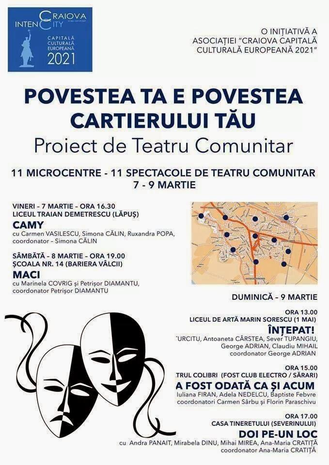 Teatru comunitar in Craiova