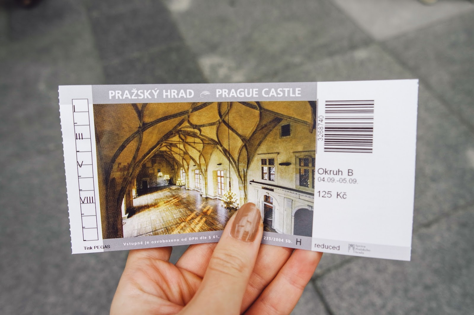 prague castle ticket