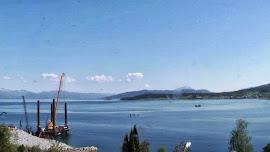 WebCam Vestnes (arbeid med ny Tresfjordbru)