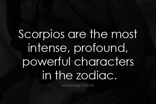 Scorpio sextrology