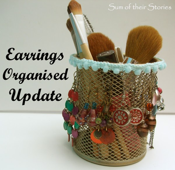 Earrings Organised Update