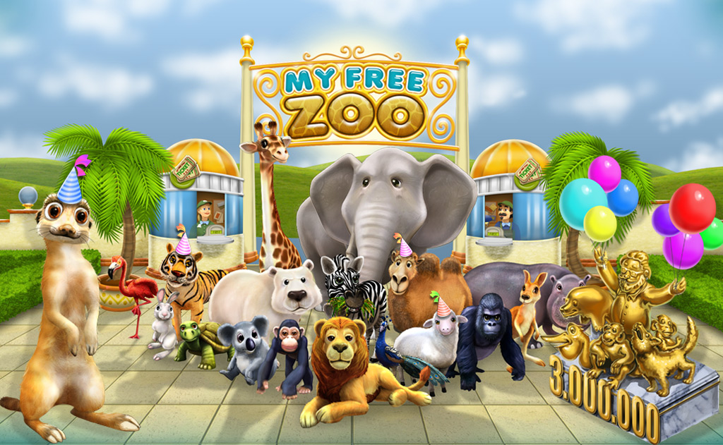 my free farm zoo
