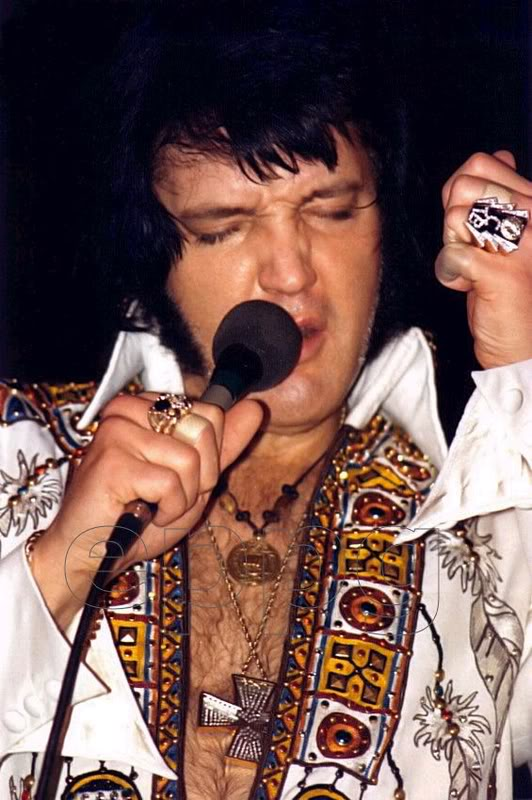 Elvis Presley Ring Collection