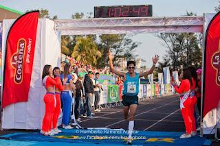 Maratón en el Campo Militar No. 1