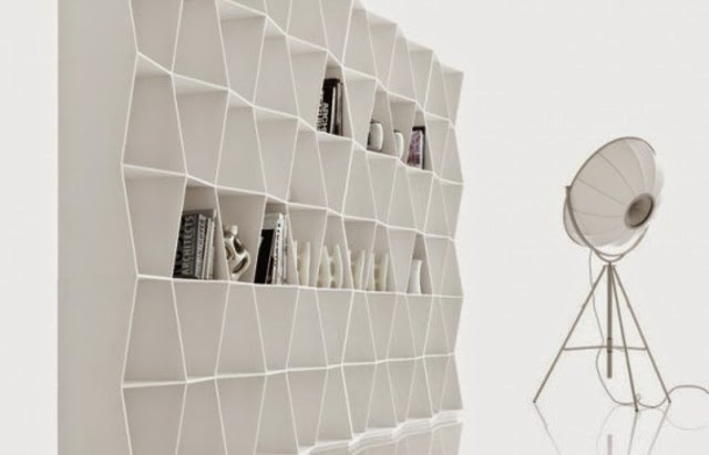 Modern Living Room Shelving Ideas White Bookshelves Design By Giuseppe Bavuso