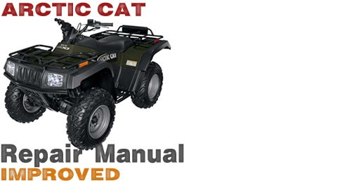 arctic cat atv 250 service manual