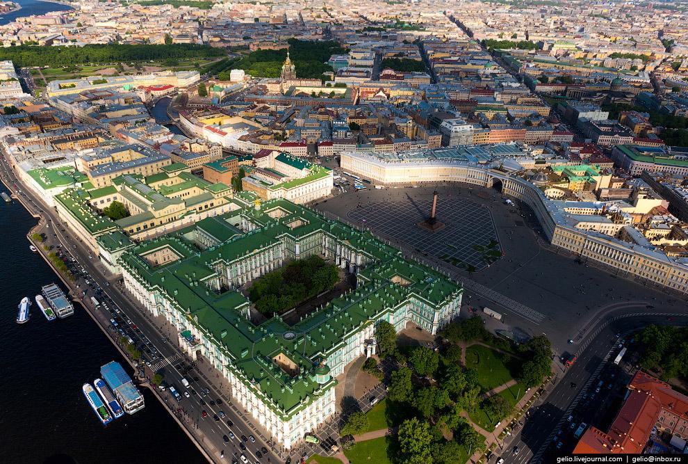 Санкт-Петербург с высоты птичьего полета (37 фото)