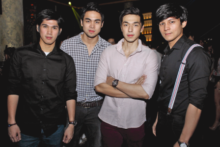 Mark Lopez, Miko Raval, David Chua, and Joseph Marco