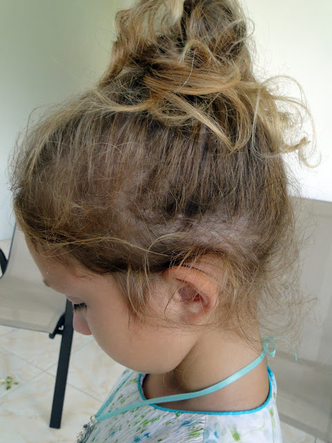 hair style: no heat princess curls