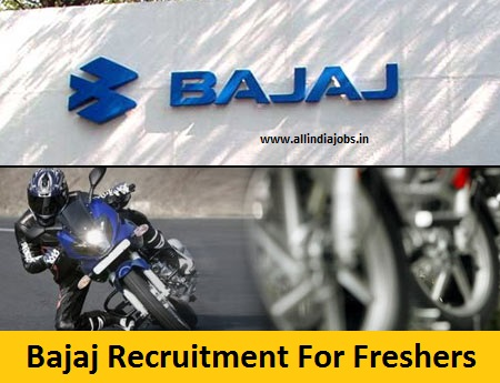 Bajaj Recruitment 2018-2019 Job Openings For Freshers | Freshers ...